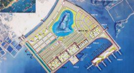Mặt bằng quy hoạch tổng thể Khu Đô Thị Ao Tiên Vân Đồn