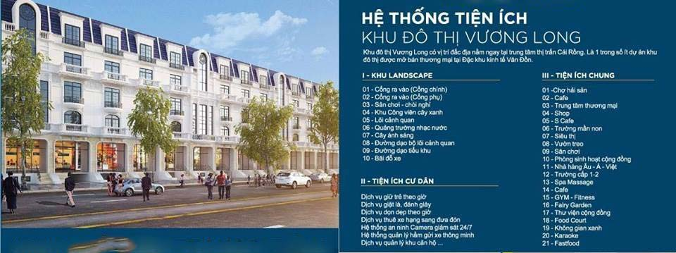 Cần bán lô đất khu đô thị Vương Long Vân Đồn Quảng Ninh