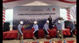 Khởi công xây dựng Khu khách sạn cao tầng thứ 2 tại Ao Tiên Vân Đồn