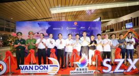 Sân bay quốc tế Vân Đồn mở hàng loạt chuyến bay quốc tế