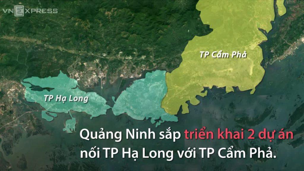 Dự án kết nối đường bao biển Hạ Long Cẩm Phả